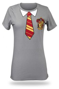ThinkGeek :: Gryffindor House Tee (Totally going to be Harry Potter this Halloween. Harry Potter Fiesta, Harry Potter Shirts, Harry Potter Outfits, Harry Potter Love, Geek Chic, Cool Outfits, Just For You, Clothes For Women, My Style