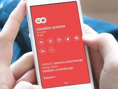 eodsgn.com [mobile homepage animation] by Eduardo Oliveira