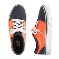 Kids Vans two-tone sneakers