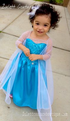 This Dress its has lotz of details. Cape has a long train about feet ( it can be smaller or larger) convo me for custom order. It has Crystal Frozen Birthday Outfit, Baby Girl Birthday, Frozen Dress, Elsa Dress, Toddler Dress Up, Princess Ball Gowns, Frozen Party, Dance Costumes, Girl Fashion