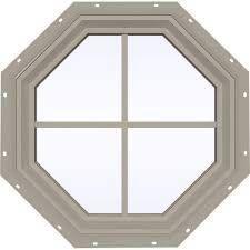 "24/"" 30/"" Aluminum Frame Tempered Glass Sunburst Half Moon Shed Windows 18/"""