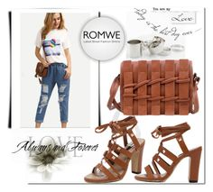 """""""ROMWE 11/6"""" by melissa995 ❤ liked on Polyvore"""