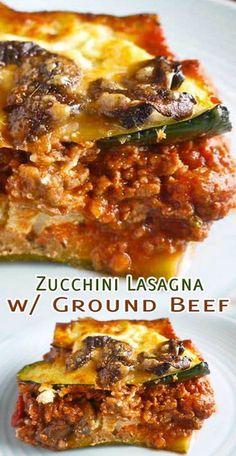 Zucchini Lasagna With Ground Beef Recipe Zucchini Lasagna . Zucchini Lasagna With Ground Beef Recipe Zucchini Lasagna With Ground Beef Recipe - Tasty Foods Recipes beef recipes healthy Zucchini Lasagna Recipes, Keto Lasagna, Recipe Zucchini, Zucchini Lasagne, Lasagna Recipe With Vegetables And Meat, Zucchini Ground Beef Recipe, Beef Zucchini Casserole, Ground Beef Lasagna Recipe, Zucchini Noodles