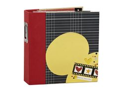 NEW!  Say Cheese II - Scrapbook.com - Fun SN@P binder made with the new Simple Stories Say Cheese II collection.