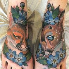 "sorryyouruinedyourself: ""tattooedbodythings: ""Best Tumblr blog "" Torie Larson """