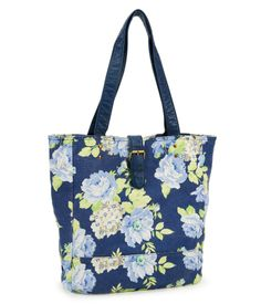 Floral Print Buckle Tote from Aéropostale