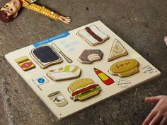 Iconic Munchies Wooden Puzzle by Make Me Iconic