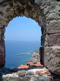 Molivos (Molyvos) Lesvos. Why not join us to see all the sites. See our website for all the details.