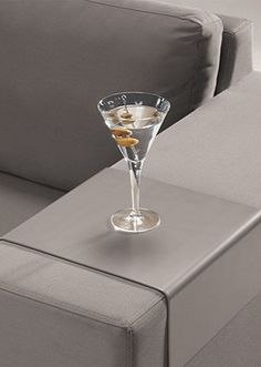 Keep beverages or hors d'oeuvres close at hand!