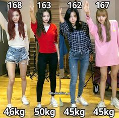 Lisa and Jisoo really need to eat more. Even without food Lisa has the best and tall body Blackpink Fashion, Korean Fashion, Fashion Outfits, Black Pink Kpop, Blackpink Memes, Blackpink Photos, Jennie Blackpink, Blackpink Jisoo, Height And Weight
