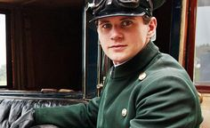 Allen Leech plays Tom Branson on the British TV show Downton Abbey