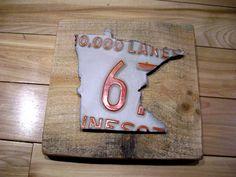 Minnesota license plate art