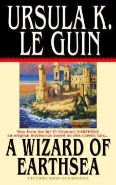 Ursula K. Le Guin:A wizard of Earthsea (Earthsea series, 1). During a spell recalling the dead, the boy Sparrowhawk, a sorcerer's apprentice, unwittingly unleashes evil on the land. He grows to manhood while attempting to subdue the evil he unleashed on the world.