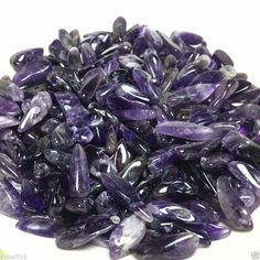 50g Natural Purple Amethyst Point Quartz Crystal Rock Stone Mineral Specimen | eBay