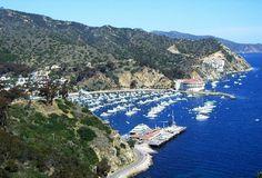 Webcam desde Catalina Island en Estados Unidos
