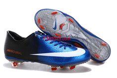Nike Mercurial 2013 Vapor IX FG TPU Blue Sapphire Black White