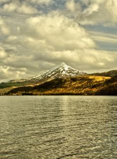 Schiehallion, Perthshire, Scotland: the mountain of the fairies where contour lines were invented