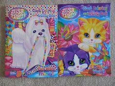 Lisa Frank Coloring books for sale on Ebay!
