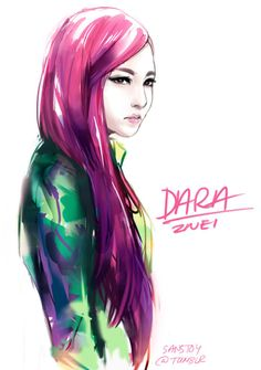 2NE1 Dara by sanstoy@tumblr