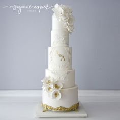 Alexandria Lace Mix and Match Monogram 3 Tier Set by Suzanne Esper