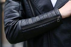 Aliexpress.com: Comprar A la moda masculino prendas de vestir exteriores 2016 primavera cuero de la motocicleta chaqueta escudo de cuero corto chaquetas y abrigos para hombre de Coates calle confiables proveedores de new fashion style store.