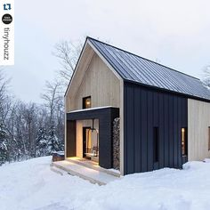 #Repost @tinyhouzz @villaboreale Charlevoix Quebec Canada - Available for rent on @airbnb - More images @tinyhousemag #interiors #interiordesign #architecture #decoration #interior #home #design #photogrid #bookofcabins #homedecor #decoration #decor #prefab #smallhomes #instagood #compactliving #fineinteriors #cabin #tagsforlikes #tinyhomes #tinyhouse #like4like #FABprefab #tinyhousemovement #likeforlike #houseboat #tinyhouzz #container #containerhouse by waltz1843