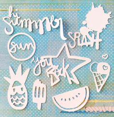 """Penknives Design: Freebies de Cameo y Portrait colección """"Summer"""""""