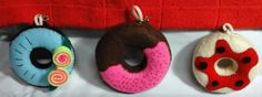 Donuts Key Chain