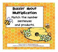 Classroom Freebies: Multiplication Buzz