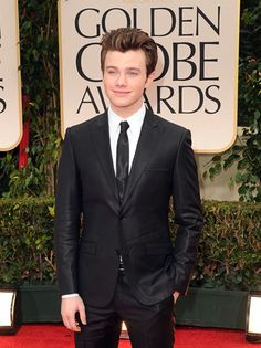Glee's Chris Colfer I love this guy he is so amazing he's just so true to himself that's awesome