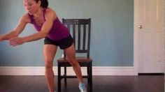 Chair Workout - Overweight & Obese Fitness, via YouTube.