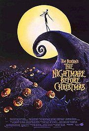 """""""The Nightmare Before Christmas"""" - Beautiful, dreamy and clever Stop Motion picture by the wonderful Tim Burton - as always through all the shadow the (kind of) good wins in the end"""