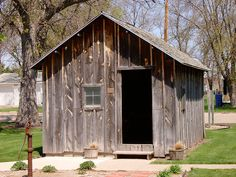 Replica of De Smet, SD's first school, which was attended by Laura Ingalls Wilder.