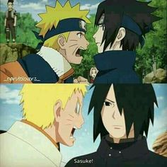 Sasuke is very handsome