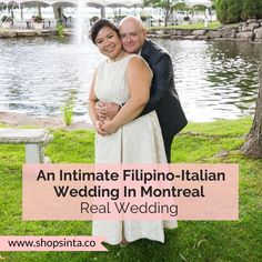 An Intimate & Inspired Filipino-Italian Wedding In Montreal Wedding Blog, Wedding Gowns, Our Wedding, Filipino Wedding, American System, Edible Favors, Filipino Culture, Bride Sister, Slow Dance