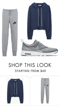 """""""Untitled #4"""" by anggahp on Polyvore featuring MANGO and NIKE"""