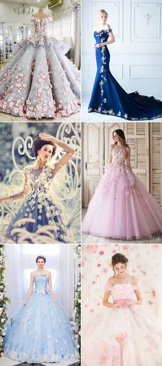 This year floral details are exploding off wedding dresses and really transforming gowns into textural works of art. Bridal gowns can feature beautiful blooms in many different ways, and one trend we find ultra-romantic is floral-inspired necklines! Get inspired by some of our favorite designs below, and see how beautiful blooms around the neckline can …