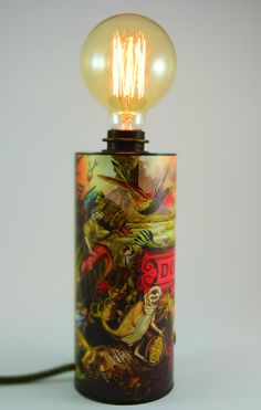 DonPapa Rum Upcycling Lampe Mt. Kanlaon Special Edition