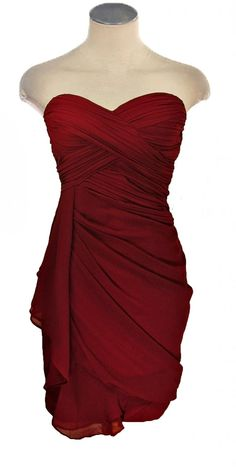 You can never have too many red dresses...especially ones that look like this :) Love this!!