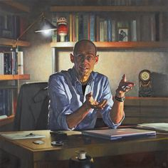 viscount-portman by David Cobley Color Studies, Art Studies, Royal Society, Viscount, Thing 1, Best Portraits, Contemporary Style, Cool Art, David