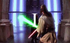 Star Wars - beautiful saber forms from all six movies. Love the lunge formation combo that Luke does in Ep. Six. Beautiful technique.