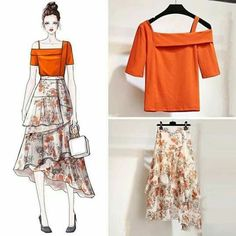 Perfect Clothing Colour Combinations For 2020 Look Fashion, Korean Fashion, Girl Fashion, Womens Fashion, Fashion Design Drawings, Fashion Sketches, Fashion Drawing Dresses, Fashion Dresses, Color Combinations For Clothes
