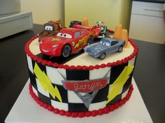 Excellent Photo of Cars Birthday Cake . Cars Birthday Cake Cars Cakes Decoration Ideas Little Birthday Cakes Cake Decorating For Kids, Birthday Cake Decorating, Decorating Ideas, Boys First Birthday Cake, Happy Birthday Cakes, Car Birthday, Birthday Ideas, Birthday Parties, Cars Cake Design