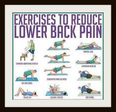Exercises To Reduce Back Pain on Pinterest | Back Pain Exercises, Back ...