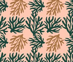 Pastel corals by pattern_house #pattern #design #love #flowers #floral #nature #surfacedesign #textiledesign #patterndesign