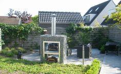 Block-Kamin-Grill | Wir liefern Gabionen und Bruchsteine in verschiedene sorten.