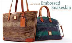 Embossed Snakeskin