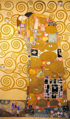 Gustav Klimt - Die Erfuellung