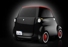 First the Beetle, then the Mini, followed by the Fiat 500 and now a modern Isetta. Bring on the Messerschmitts! BMW eSetta by Vienna's University of Applied Arts graduate Tony Weichselbraun.