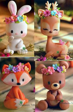 Got clay? Get creative with these 10 clever clay ideas! Polymer Clay Figures, Polymer Clay Sculptures, Polymer Clay Animals, Cute Polymer Clay, Cute Clay, Polymer Clay Crafts, Diy Clay, Diy And Crafts, Crafts For Kids